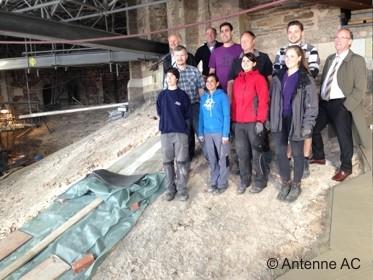 Ein weiteres Pflaster für den Aachener Dom