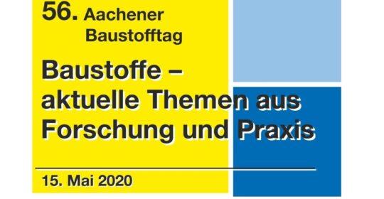 ABGESAGT – Nächster Baustofftag im Mai 2020
