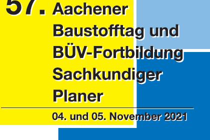 57. Aachener Baustofftag